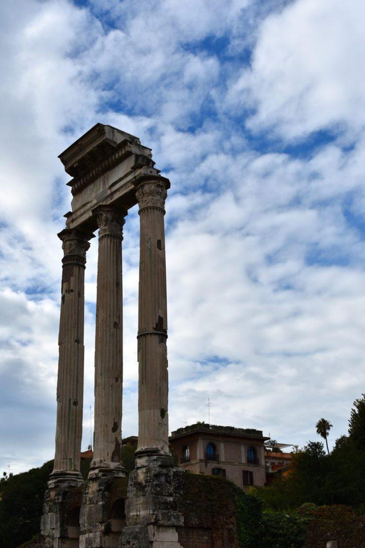 Italy Rome The Roman Forum