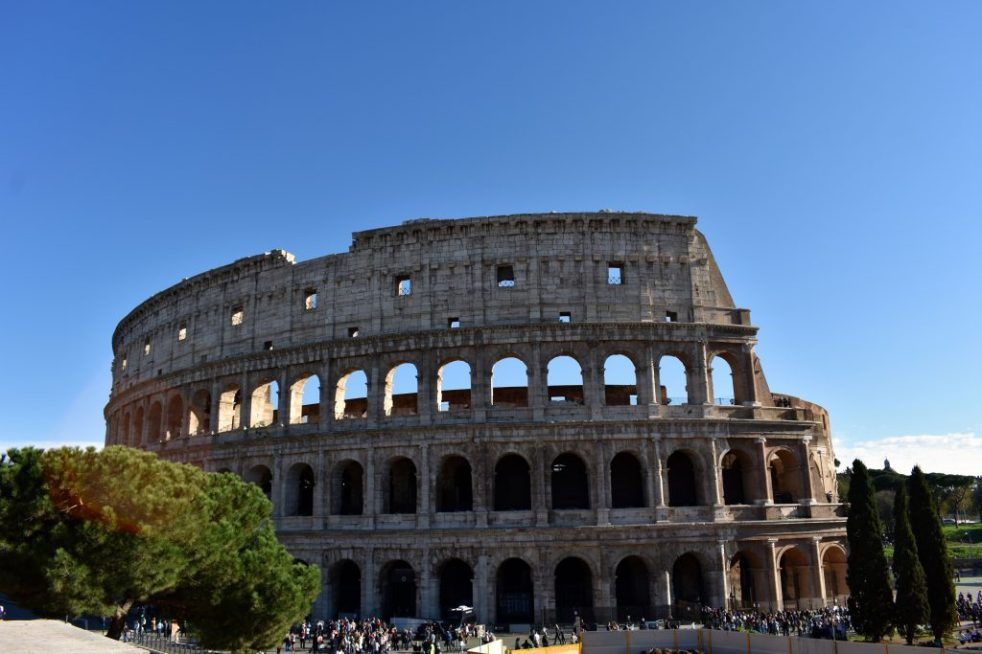 Italy Rome The Colosseum