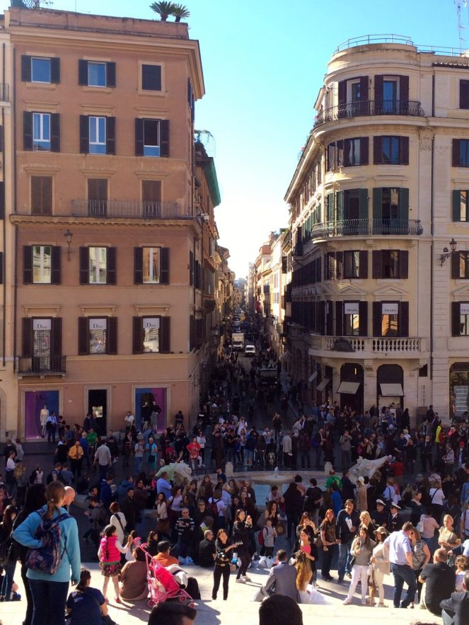 Italy, Rome, Spanish Steps