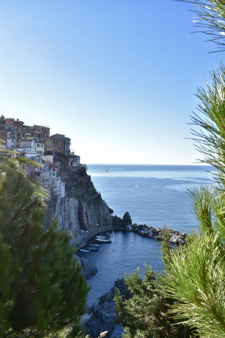 Hiking Cinque Terre, Italy, Manarola, Italia