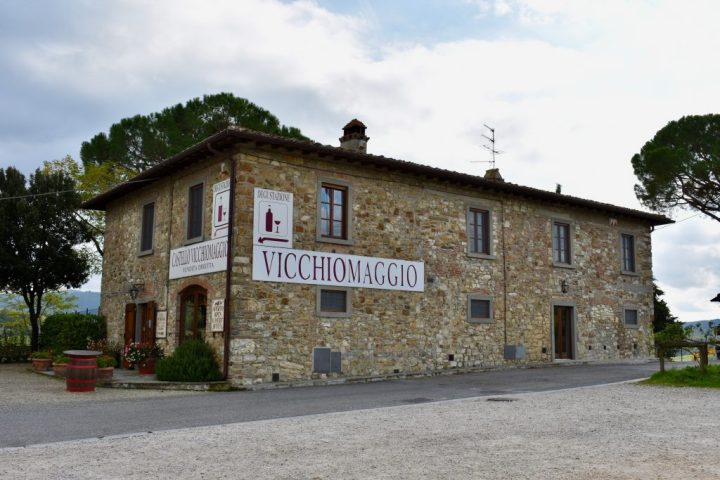 Florence, Firenze, Italy, Toscana, Tuscany, Chianti Region, MelaVespo, Vespa, Castello Vicchiomaggio