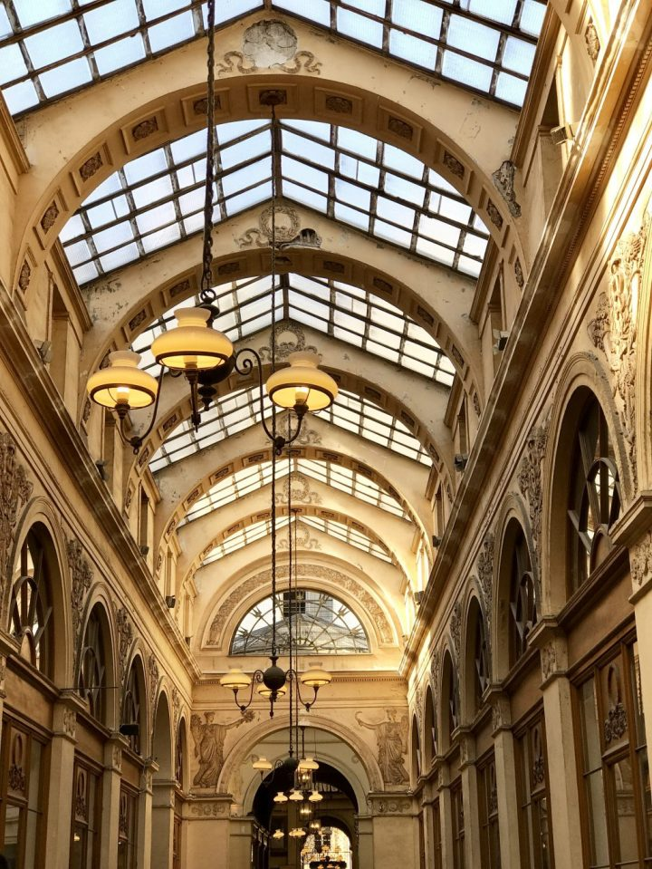 Paris, France, Europe, Travel, Covered Passages, Galerie Vivienne, Paris in One Week